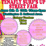 Recap: Tenafly Surf's Up Street Fair, Tenafly, NJ