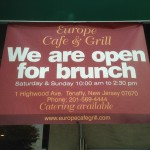 Europe Cafe Grill in Tenafly Now Serving Brunch
