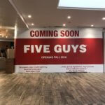 Five Guys Coming to Garden State Plaza